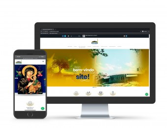Santuário tem novo site