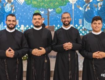Profissão Religiosa no Santuário do Rocio
