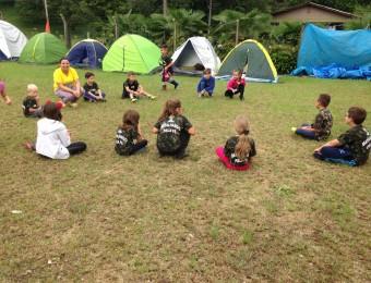 Acampamento proporciona experiência de Deus com as crianças