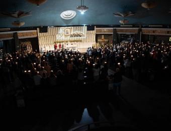 No quarto dia do novenário, fiéis renovam a fé e a esperança em Cristo