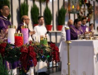 Começa a Novena de Natal no Santuário