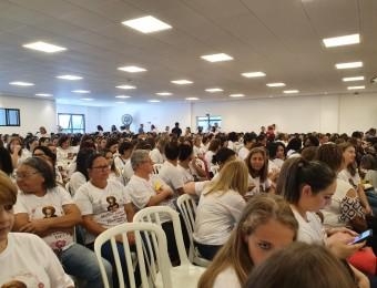 Retiro reúne 500 mulheres