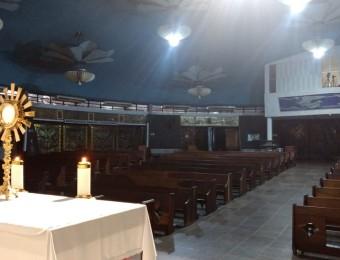 Com o Santuário fechado, pastorais fazem 24 horas de adoração através da internet
