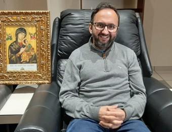 Padre Celso recebe alta hospitalar