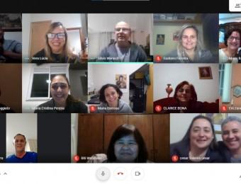 Catequistas participam de roda de conversa virtual