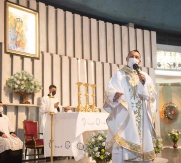 Primeira Missa do padre Willian no Santuário