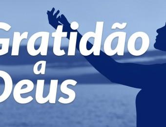 Gratidão a Deus e às pessoas